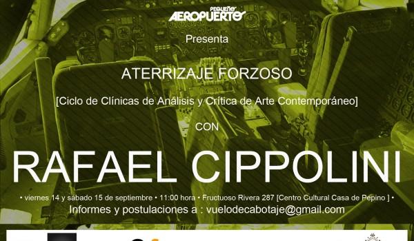 ATERRIZAJE FORZOSO [Ciclo de Clínicas de Análisis y Crítica de Arte Contemporáneo].