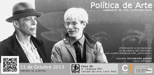 POLITICA_DEL_ARTE-seminario_LIMA