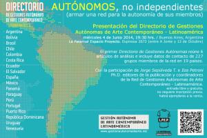 DIRECTORIO_GESTIONES_AUTONOMAS_presentacion_libro_la paternal_buenos aires