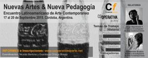 NUEVAS_ARTES-NUEVA_PEDAGOGIA_encuentro_cordoba_septiembre_2015